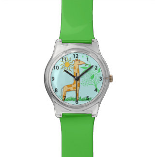 Gigi the Giraffe Cute Kid's Watch