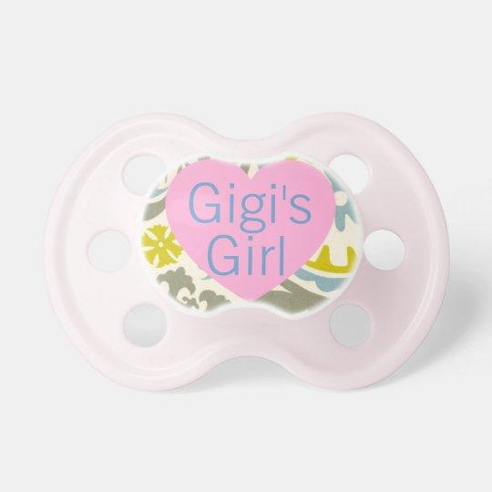 """""""Gigi's Girl"""" Baby Pacifier"""