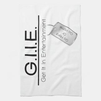 GII Towels White
