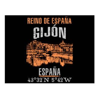 Gijón Postcard