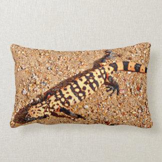 Gila Monster Custom Lumbar Pillow