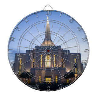 GIlbert Arizona LDS Temple Dartboard