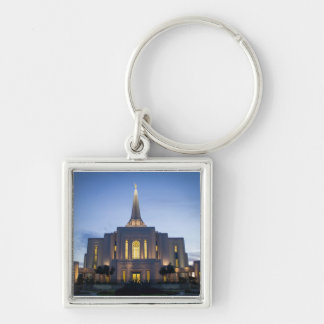 Gilbert Arizona LDS Temple Key Chain