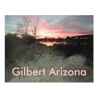 Gilbert Arizona Postcard