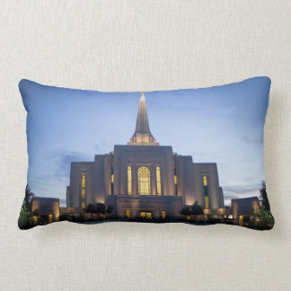 Gilbert, Arizona Temple Lumbar Pillow