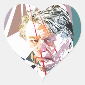 Gilbert Collard Heart Sticker