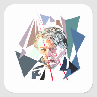 Gilbert Collard Square Sticker