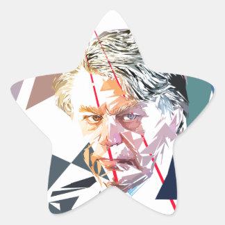 Gilbert Collard Star Sticker