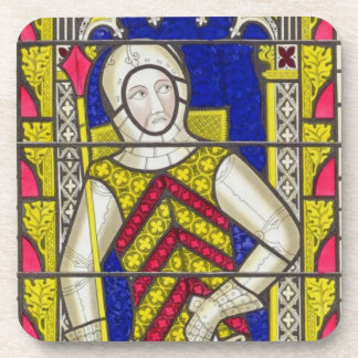 Gilbert de Clare, 3rd Earl of Gloucester (1243-95) Beverage Coasters