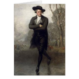 Gilbert Stuart The Skater Card