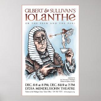 Gilbert & Sullivan's Iolanthe Poster