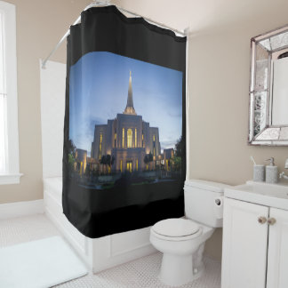 Gilbert Temple Shower Curtain