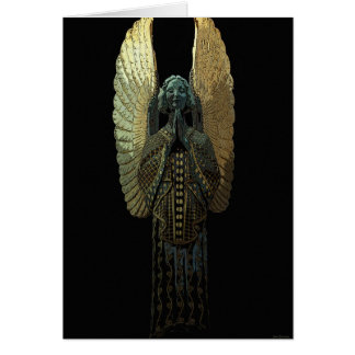 Gilded Angel Greeting Card