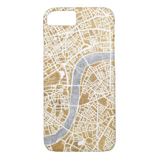 Gilded City Map Of London Case-Mate iPhone Case