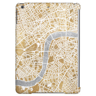 Gilded City Map Of London iPad Air Case