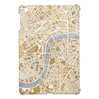 Gilded City Map Of London iPad Mini Cases