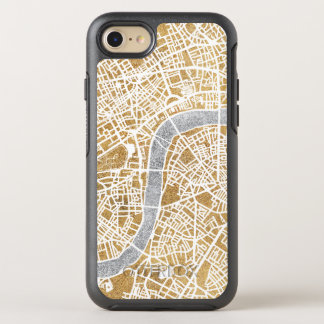 Gilded City Map Of London OtterBox Symmetry iPhone 8/7 Case