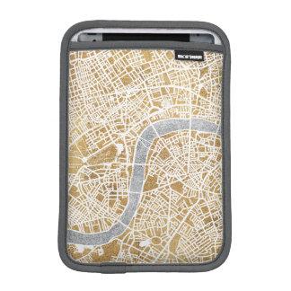 Gilded City Map Of London Sleeve For iPad Mini