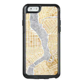 Gilded City Map Of New York OtterBox iPhone 6/6s Case