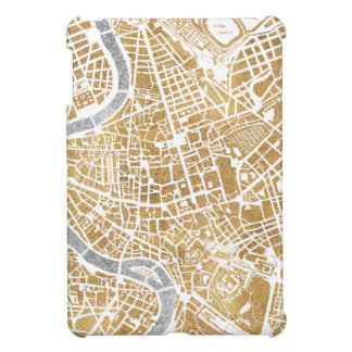 Gilded City Map Of Rome Cover For The iPad Mini