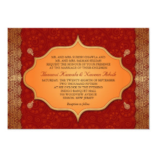 Indian Wedding Invitations Announcements Zazzle Canada