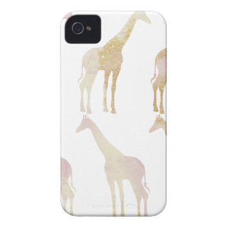 Gilded Giraffes 1 iPhone 4 Case-Mate Cases