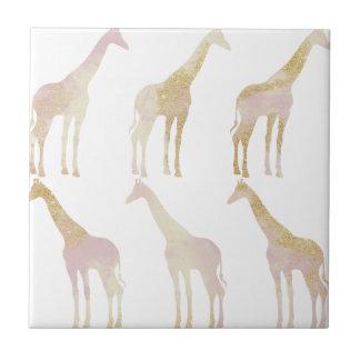 Gilded Giraffes 1 Tile