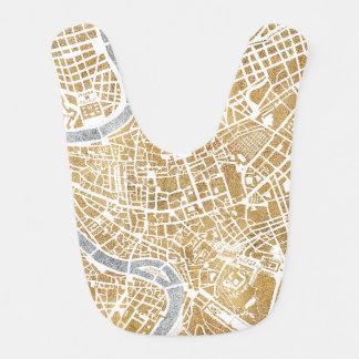 Gilded Rome Map 6 Bibs
