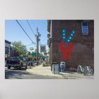 gilf! Street Art Poster
