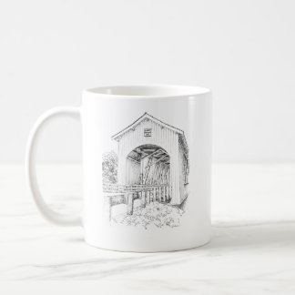 Gilkey Bridge w/ Legend (right-handed) Coffee Mug