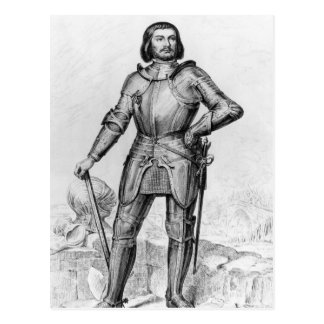 Gilles de Laval, Lord of Rais Postcard