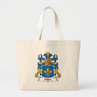 Gilles Family Crest Jumbo Tote Bag
