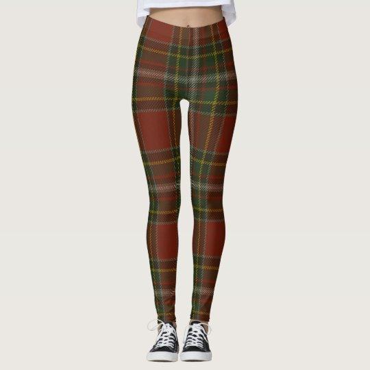Gillespie Tartan Clan Plaid Leggings