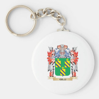 Gilli Coat of Arms - Family Crest Keychain