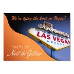 Gillian's Custom Las Vegas Save The Date