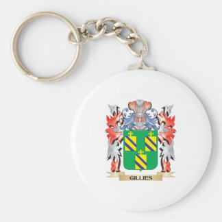 Gillies Coat of Arms - Family Crest Keychain