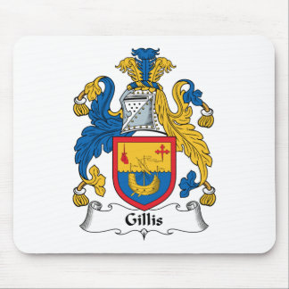 Gillis Family Crest Mouse Pad
