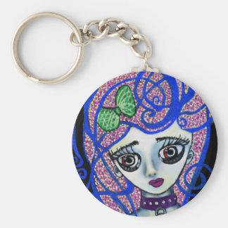 Gilly the Sad Emo Keychain