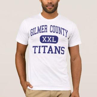Gilmer County - Titans - High - Glenville T-Shirt