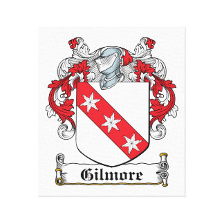 Gilmore Family Crest Canvas Print