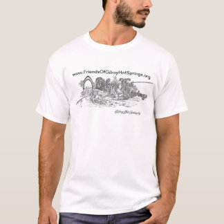 Gilroy Hot Springs 1900s logoT-Shirt T-Shirt