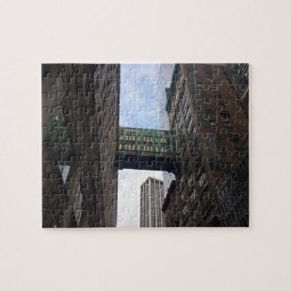 Gimbels Sky Bridge New York City NYC Photography Jigsaw Puzzle