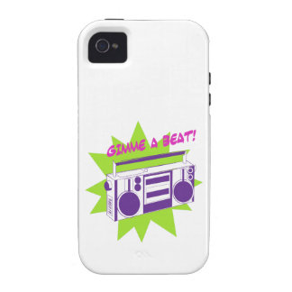 Gimme A Beat! Vibe iPhone 4 Cover