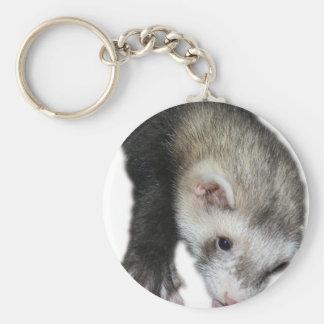 Gimme Ferret Basic Round Button Keychain
