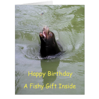 Gimme Fish...NOW Card