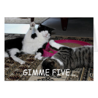 Gimme Five Card