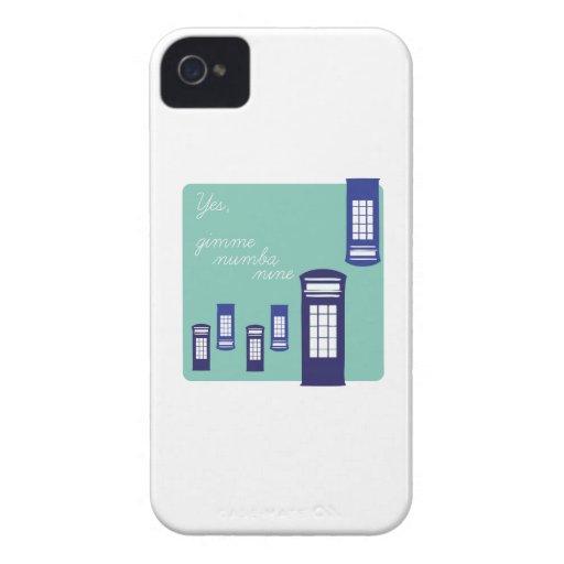 Gimme Number Nine iPhone 4 Case