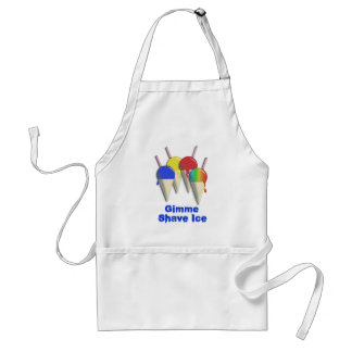 Gimme Shave Ice Hawaiian Shaved Ice Apron