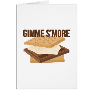 Gimme Smore Card