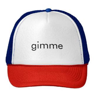 gimme trucker hat